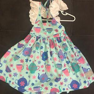 a76b4c44afb7 EUC Eleanor Rose Tea Party Dress 3 4